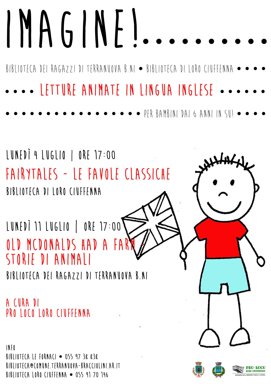 Imagine Letture Animate In Lingua Inglese Per Bambini Dai 6 Anni
